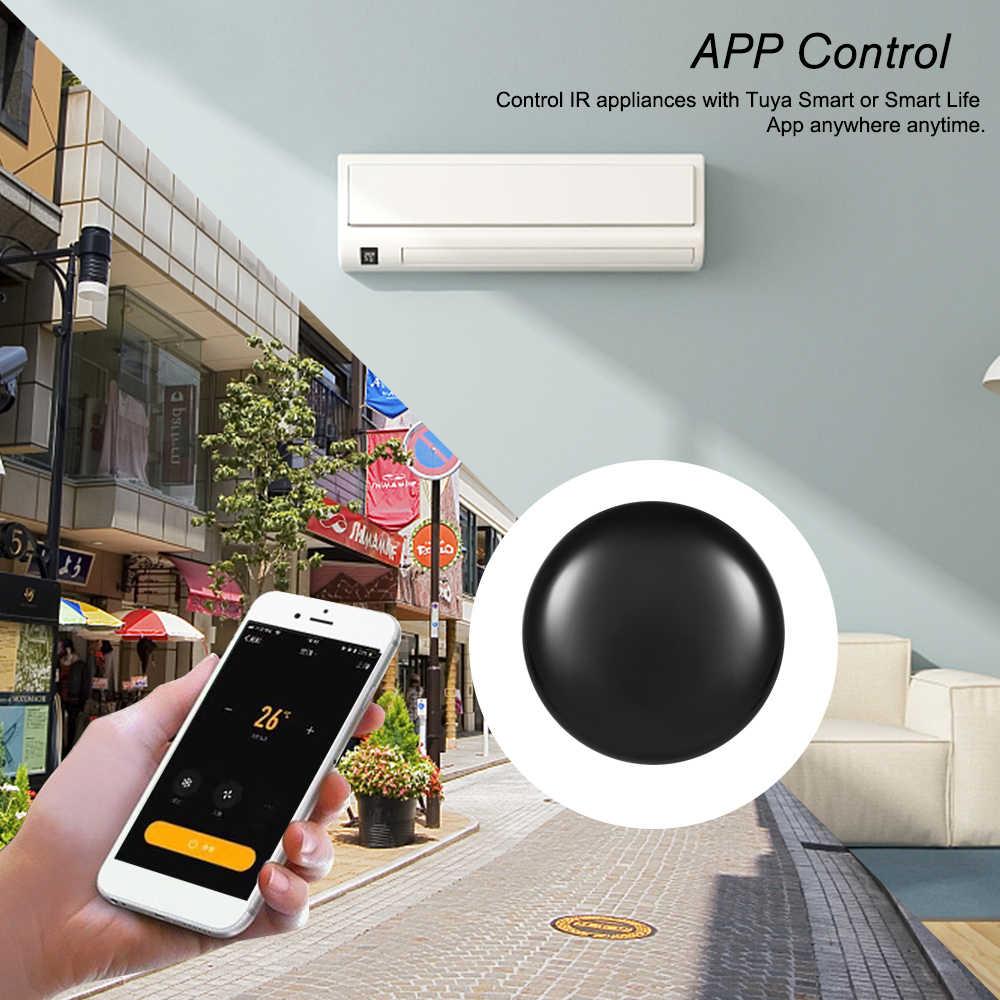 Wifi-Ir Telecomando Hub Wi-Fi Abilitato a Raggi Infrarossi Telecomando Universale per Il Condizionatore D'aria Tv Utilizzando Tuya Vita Intelligente app