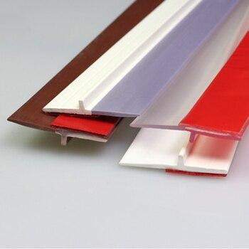 สีน้ำตาล/สีขาว/สีเทา/โปร่งใสภายใต้ประตูกวาด WEATHER Stripping ด้านล่างซีล Strip ร่าง WIND Stopper ใหม่มาถึง