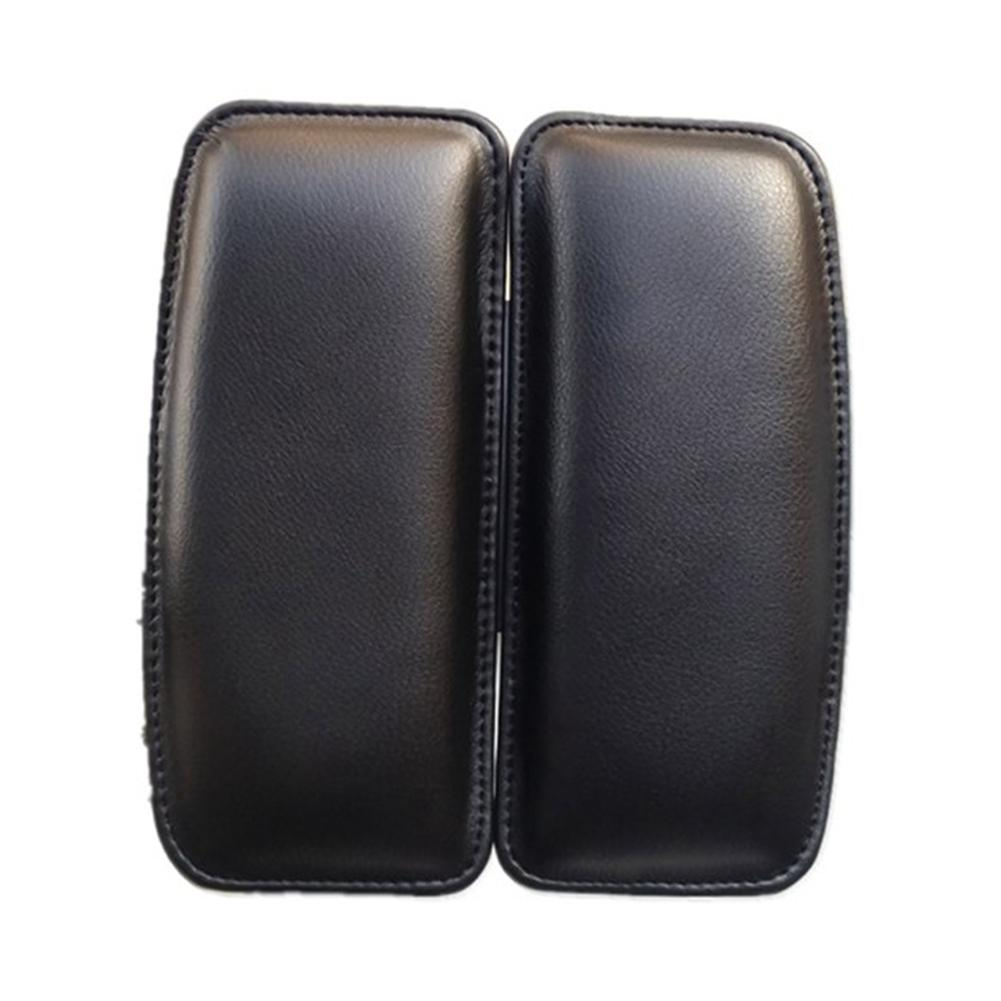 Universal Car Seat Cushion Foot Support Leather Car Leg Pad Knee Support Door Control Leg Cushion Foot Pads