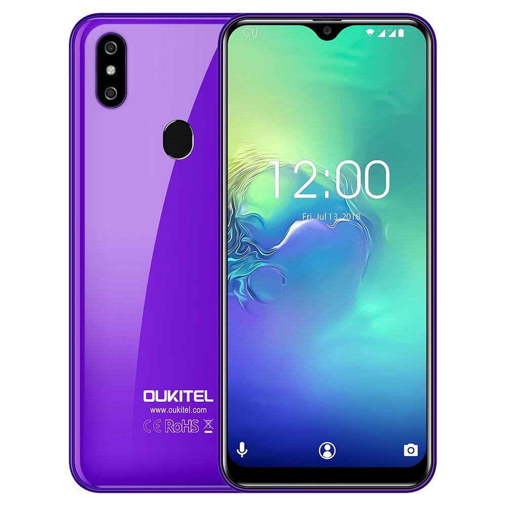 OUKITEL C15 Pro 4G Phablet 6.088 Inch Android 9.0 MT6761 Quad Core 2.0GHz IMG GE8300 2GB RAM 16GB ROM Fingerprint Sensor 3200mAh