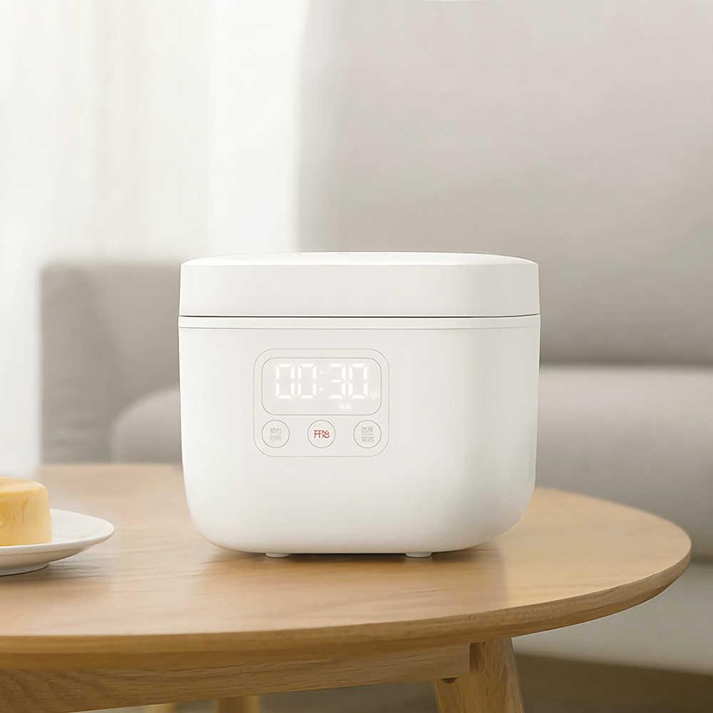 حار بيع شاومي 1.6L وعاء طبخ أرز كهربائي مطبخ صغير طباخ صغير الأرز كوك آلة ذكي موعد LED العرض