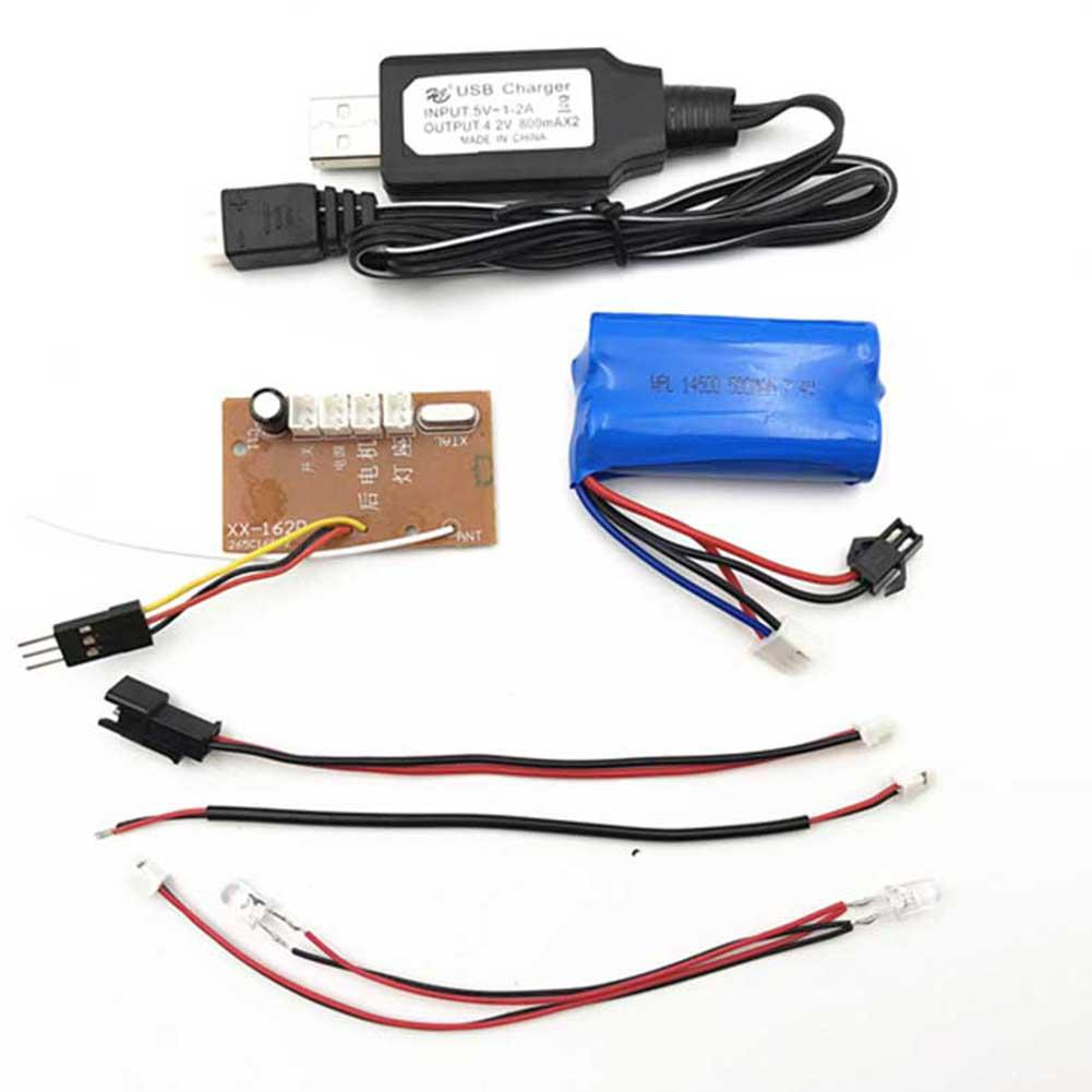 WPL 2.4G Transmitter Remote Control For C14 C24 B16 B36 KIT Car Version Battery Charger 1/16 RC Crawler Car Part Accessories Islamabad