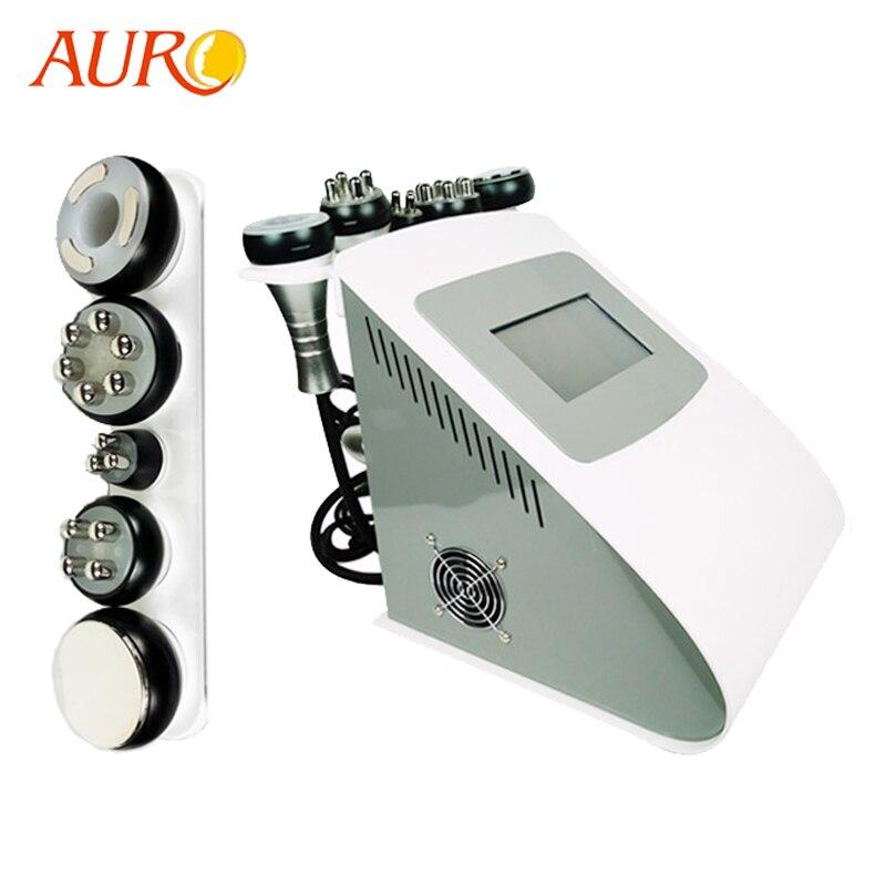 Au 61 Free Shipping AURO Beauty 2019 Cavitation RF Machine Ultrasonic Cavitation Weight Loss Slimming Radio