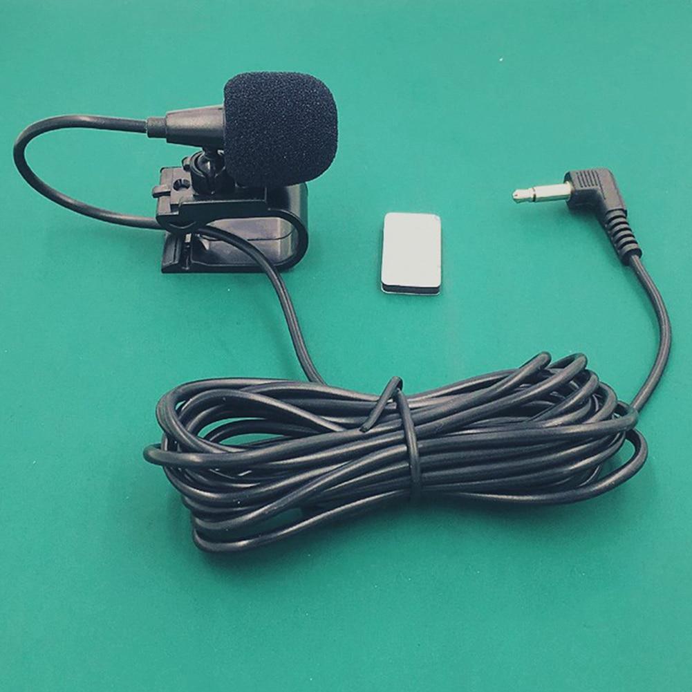 External Mic Stereo Bluetooth Portable Audio 3.5mm Microphone GPS Car