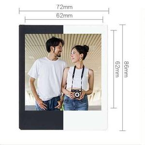 Image 2 - 후지 필름 폴라로이드 포토 용지 Instax Square Film Instax Sq10 Sq6 Sq20 인스턴트 카메라 용 화이트/블랙 에지 인화지
