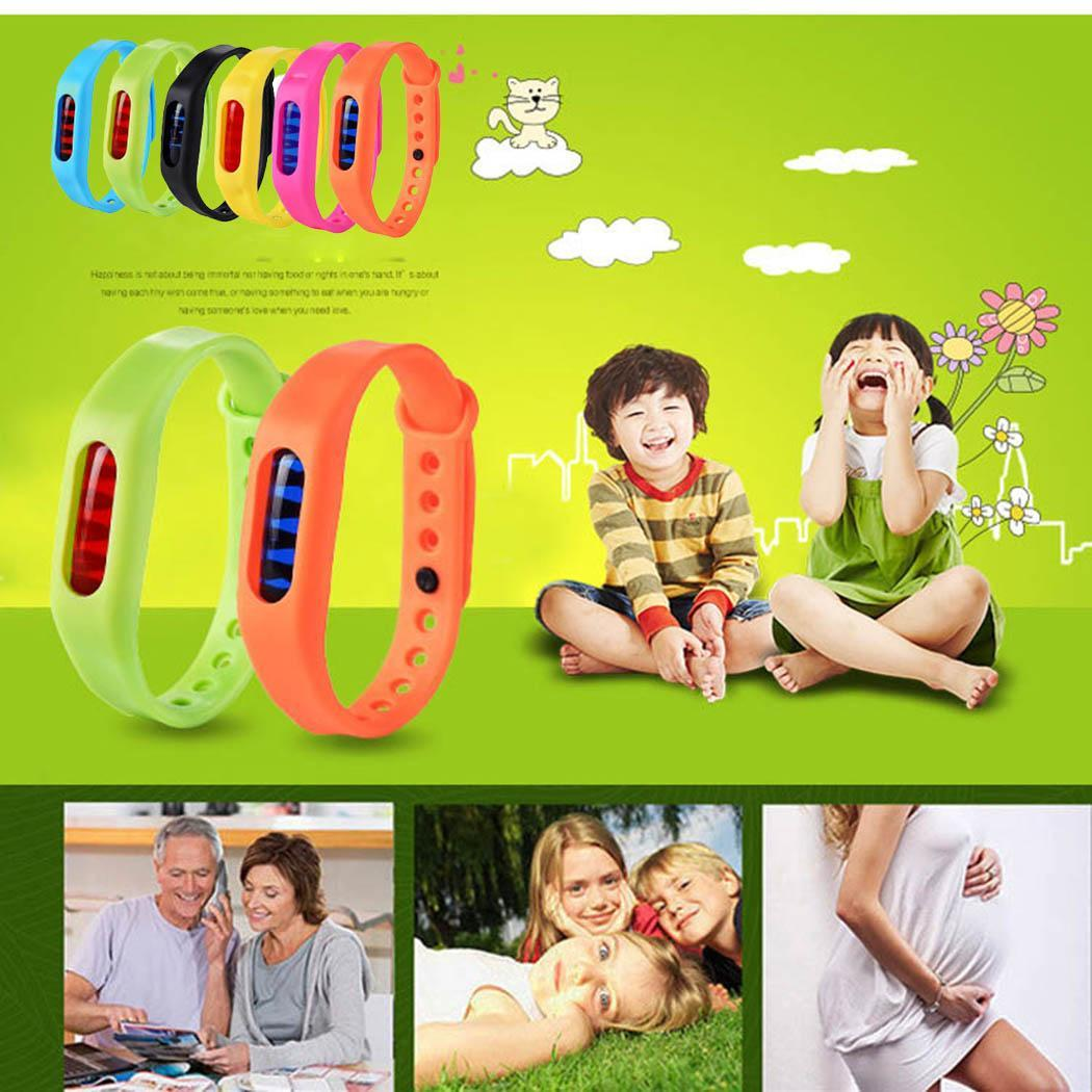 Environmental Protection Silicone Wristband Summer Mosquito Repellent Bracelet Anti-mosquito Band for Children KidsEnvironmental Protection Silicone Wristband Summer Mosquito Repellent Bracelet Anti-mosquito Band for Children Kids