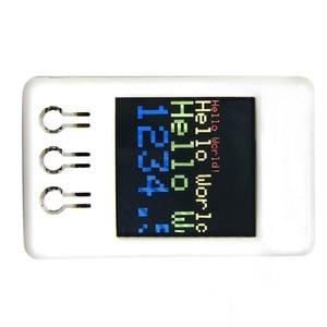 Image 2 - Ttgo Ts V1.2 Diy Box Esp32 1,44 дюймов 128X128 Tft слот для карты Microsd колонки Bluetooth Wifi модуль для дисплейного оборудования, плеера