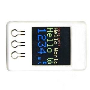 Image 2 - Ttgo ts v1.2 diy caixa esp32 1.44 Polegada 128x128 tft microsd cartão slot alto falantes bluetooth wifi módulo para equipamento de exibição, jogador