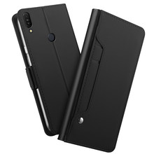 For Asus Zenfone Max Pro M1 ZB601KL/ZB602KL Case with Mirror Kickstand Card Pocket PU Leather Flip Kickstand Wallet Cover Fundas(China)