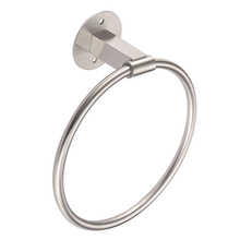 1 Pc Towel Ring Stainless Steel Self Adhesive Round Wall Mounted Rustproof Rack