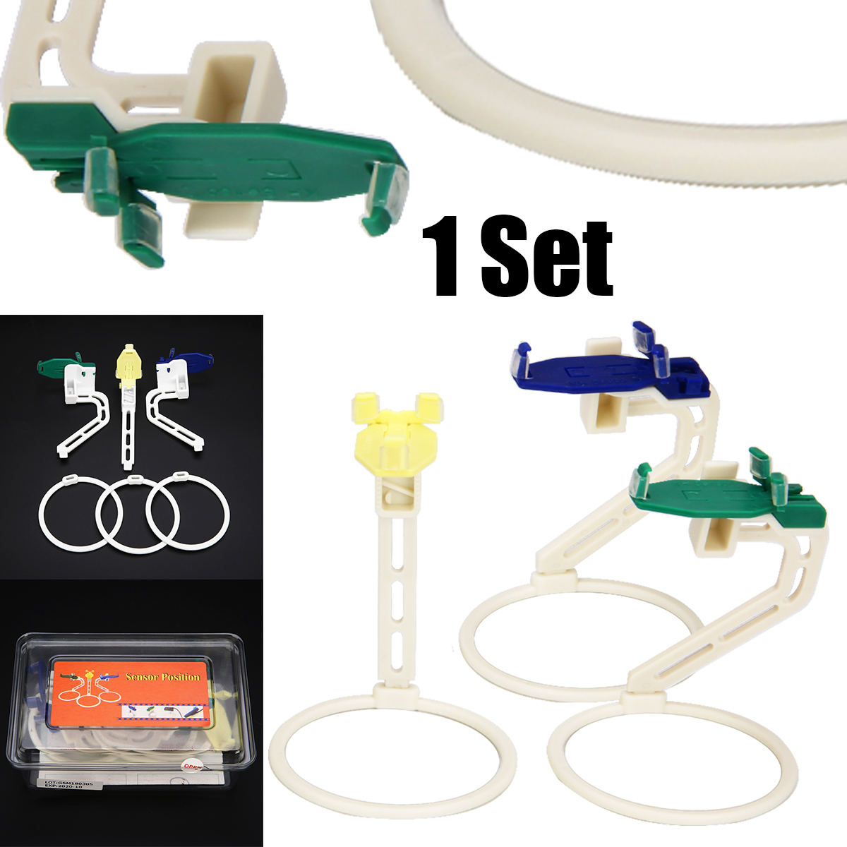 1 Set Dental Digital X Ray Film Sensor Positioner Portable Plastic Holder Dental Positioning Tool For Dentist