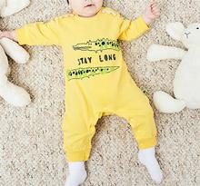 One Piece Newborn Kids Baby Boys Girls Clothes Animal Printed Long Sleeve INS Fashion Romper Jumpsuit Easter Outfits