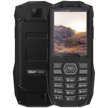 Blackview BV1000 2G Feature Mobile Phone 2.4 Inch IP68 Waterproof MT6261 260MHz 32MB ROM 0.3MP Rear Camera 3000mAh GSM Cellphone