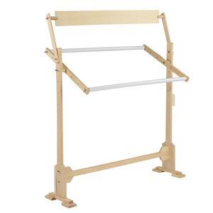 Image 2 - كبيرة الحجم التطريز حامل الصلبة إطارات خشبية طاولات خشبية قابلة للتعديل الإطار ل عبر غرزة الخياطة اليدوية أدوات