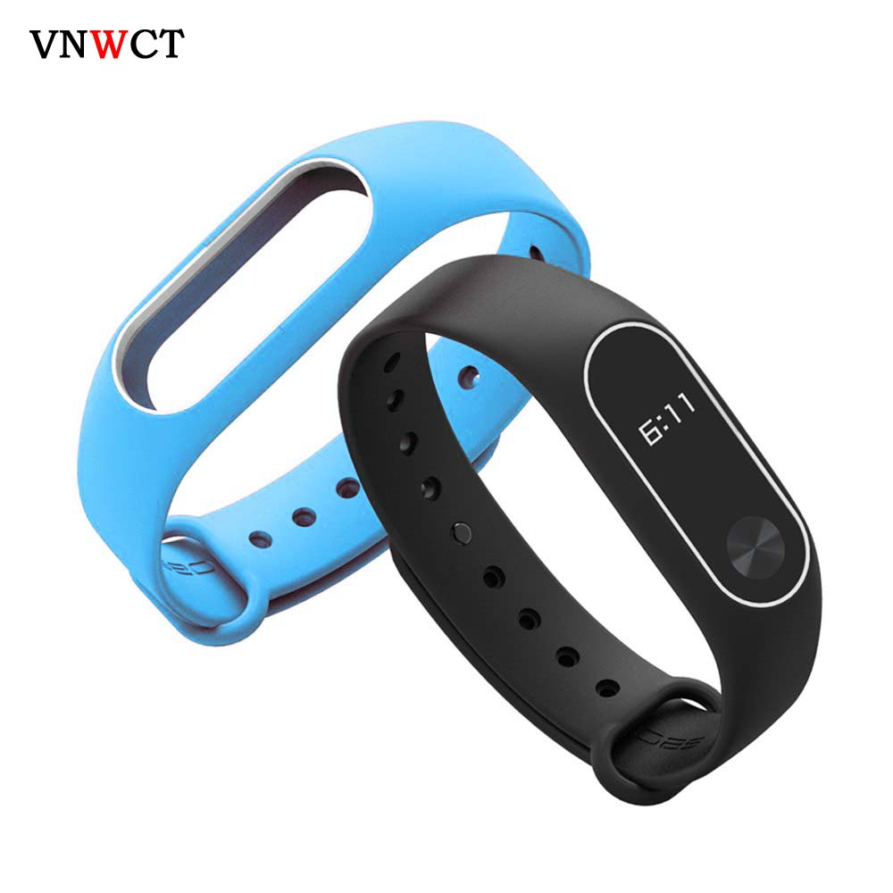 Smart Watch M2 Strap For Xiaomi Mi Band 2 Silicone Bracelet Watchbands Miband 2 Wristband Replacement  Accessories Wholesale