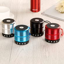 Wireless Bluetooth Speaker Metal Mini Portable Subwoof Sound with Mic TF Card FM radio AUX MP3 Music player Loudspeaker сковорода d 24 см vari pietra gr31124