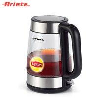 Чайник Ariete 2874 Tea Maker, мощность 2200 Ватт, автоматическое отключение, индикатор уровня воды, съемный фильтр