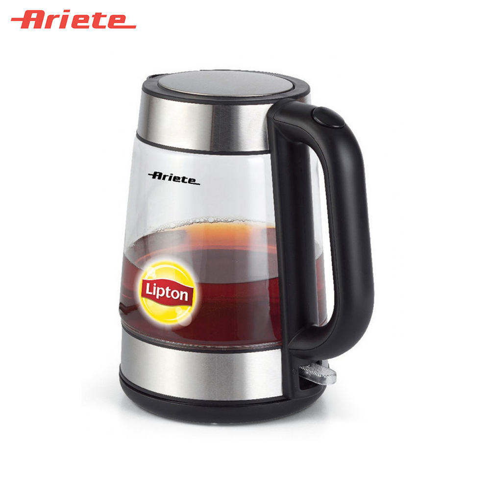 Electric Kettles Ariete 8003705114586 smart kettle teapot pot water boiler electric kettle redmond rk g154 pot teapot thermo household pot quick instant heating boiling pot zipper glass large capacity
