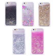 Liquid Glitter Stars Bling Moving Latest Design Case Cover For Phone X & Samsung