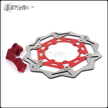 Motorbike 270MM Front Floating Brake Disc Rotor Adaptor For HONDA CR125R CR250R CRF250R CRF250X CRF450R CRF450X CR CRF CRE
