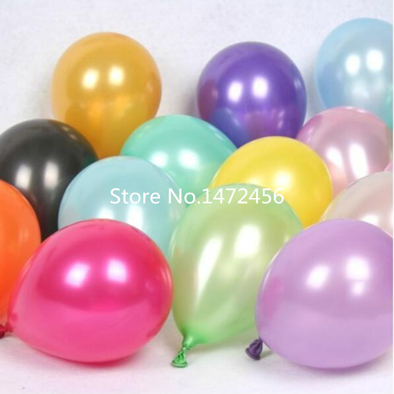 """100PCS 10/""""inch latex balloons WHOLESALE for party birthday wedding decoration UK"""