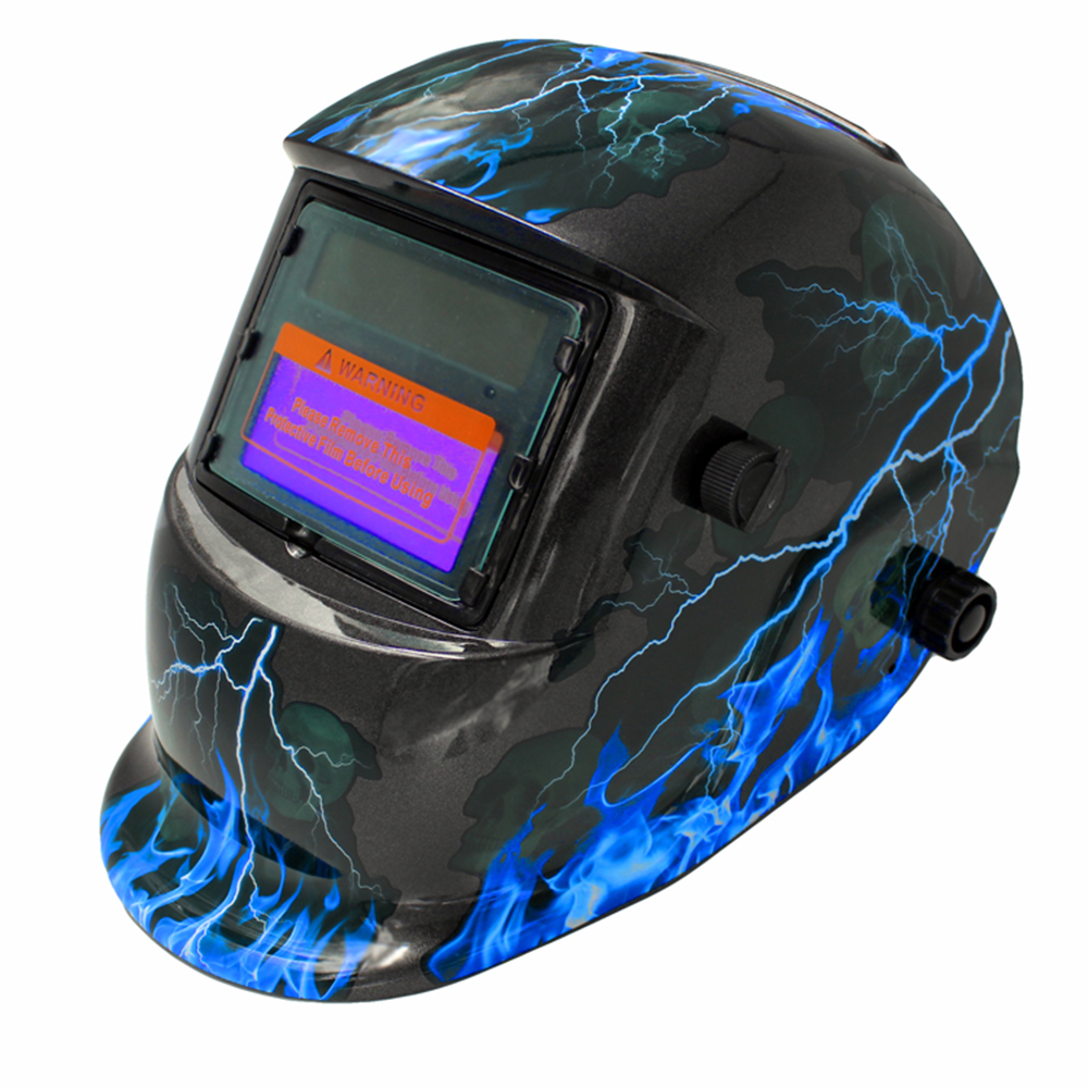 Schweiß Helm Solar Auto Verdunkelung Haube Einstellbar für Mig Tig Elektrische Schweißen Maske Arc Schweißer Maske für Schweiß Maschine