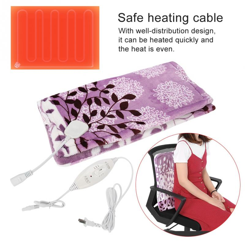 Health Care 3 Kinds Electric Winter Warm Heating Blanket Office Home Chair Pad With Easy Set Pro Controller Beauty & Health