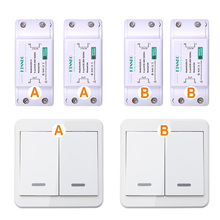 Wireless Remote Control Switch AC 220V Receiver Wall Panel Remote Transmitter Hall Bedroom Ceiling Lights Wall Lamps Wireless TX vhome wireless 433mhz wall switch shape transmitter control 220v receiver for bedroom ceiling lights wall lamps garage door