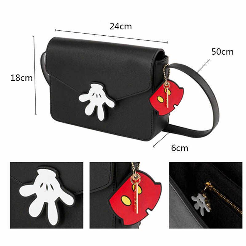 IRTBGFU 5 estilos 20-30Cm lindo Mickey Mouse bolsa Kawaii juguetes de dibujos animados PU Mickey juguetes de Minnie regalo de Navidad para los niños niñas