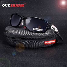 QUESHARK Unbreakable TR90 Untralight Frame HD Polarized Sunglasses Fishing Eyewear Glasses For Men Women Hiking Running Golf