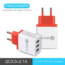USB Wall Charger Quick Charge 3.0 Fast Charger Fit QC3.0 USB