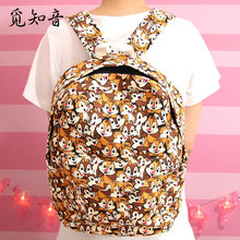 Super Quality Chip n Dale Squirrel 15 Zipper Backpack Shoulder Bag Mochila School Unisex Fashion Bags Anime Gift