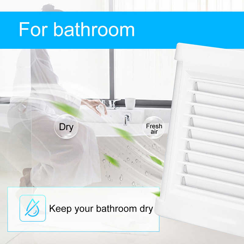 15W 4 inç sessiz havalandırma güçlü egzoz Extractor Fan pencere duvar banyo tuvalet mutfak monte 220V 100mm duvar tipi fan