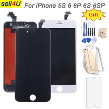 LCD screen for iphone 6 6S plus ,LCD display with 3D Force Touch Screen Digitizer ,LCD Touch Screen for iphone 5S 6 plus tr100 tr150 lcd shows with backlit touch screen
