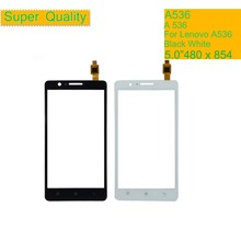купить 10Pcs/lot For Lenovo A536 A358 A 536 Touch Screen Digitizer Touch Panel Sensor Front Outer Glass Lens A358T Touchscreen NO LCD онлайн