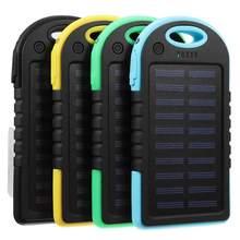 Портативный 30000 мАч солнечной энергии системы Зарядное устройство USB батарея чехол для кемпинга открытый телефон планшет ноутбук