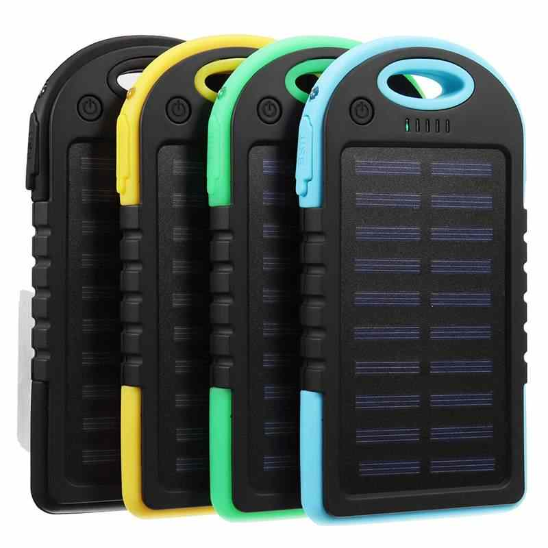 Draagbare 30000 mAh Zonne-energie Systeem Charger USB Batterij Lader Case voor Camping Outdoor Telefoon Tablet Notebook