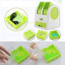 Mini USB Rechargeable Battery Fan Operated Desktop Air Conditioner Cooling Fan light weight and durable Desktop Computer