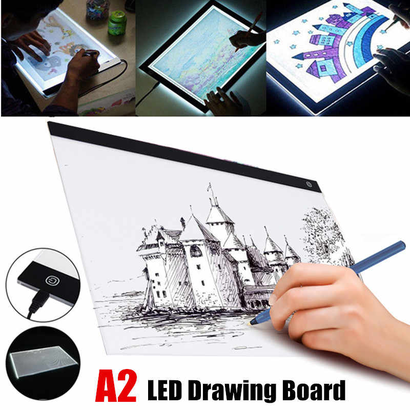 Detail Feedback Questions about USB A2 LED Light Box Tracing