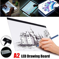 USB A2 LED Light Box Tracing Board Artist Tattoo Stencil Drawing Board Pad Table Acrylic Material Digital Tablets for Kids Gifts
