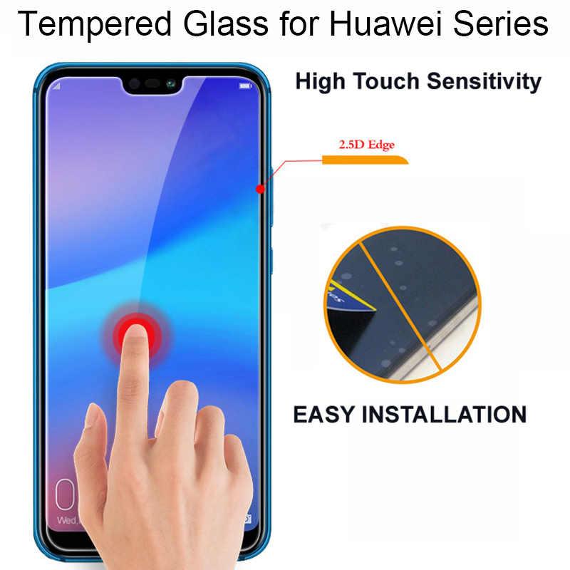 2.5D هاتف محمول زجاج واقي فيلم لهواوي P20 لايت 9 H الزجاج المقسى لهواوي P20Lite واقي للشاشة ل P20 برو حالة