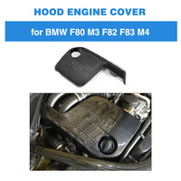 Carbon Fiber Engineer Protector For BMW M3 M4 2014 2015 2016 2017 Engineer Cover In Car Bonnet Hood