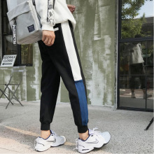 Men's Trousers  Spring New Youth Popular Loose Small Straight Leg Trousers Harlan Nine Points Sports Pants Casual Men's Clothing men s trousers 9 spring new fashion urban small straight leg trousers stretch jeans webbing trousers youth casual men s clothing
