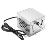 Electric BBQ Motor 25W Stainless Steel Pig Chicken Grill Rotisserie Roaster Cooking BBQ Tools Kitchen Accessories US/EU Plug