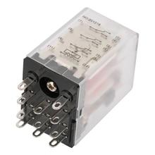 цена на 5A AC220V 11 Pin Mini Power Intermediate Relay Electromagnetic Relay