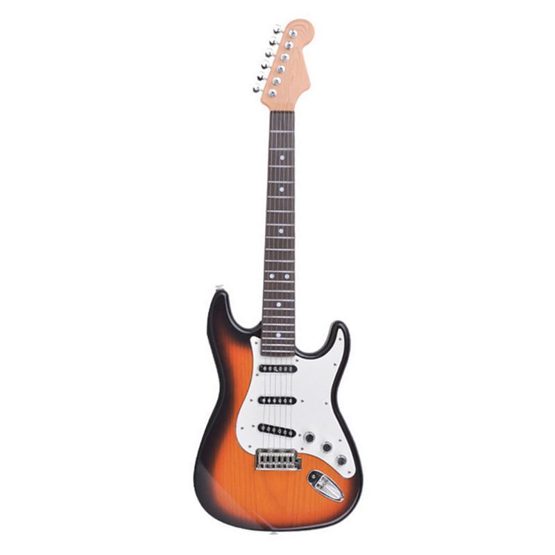 Eléctrica Guitarra NiñosInstrumento Juguete Música Simulación6 De Para 9WDEIH2