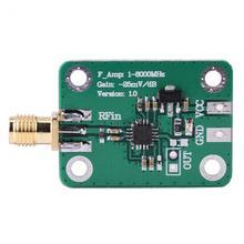 Логарифмический детектор 1-8000 МГц AD8318 RF логарифмический детектор 70dB RSSI измеритель мощности измерения высокого качества