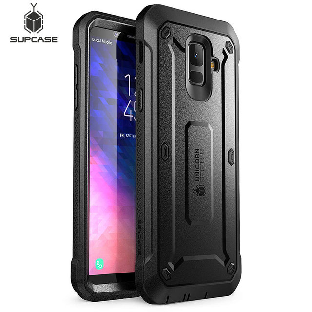 """SUPCASE For Samsung Galaxy A6 2018 Case 5.6"""" UB Pro Full Body Rugged Holster Case with Built in Screen Protector,NOT Fit A6 Plus"""