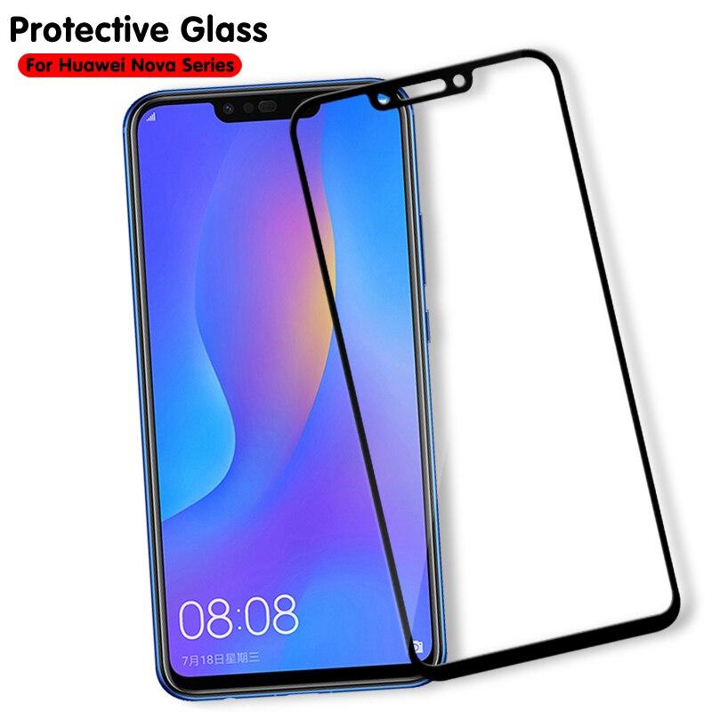 Nova3 Protective Glass For Huawei Nova 3e 4 3i 3 2i 2s 2 Plus Screen Protector Nova3e Nova3i Tempered Glass On Hauwei Nova4 Film