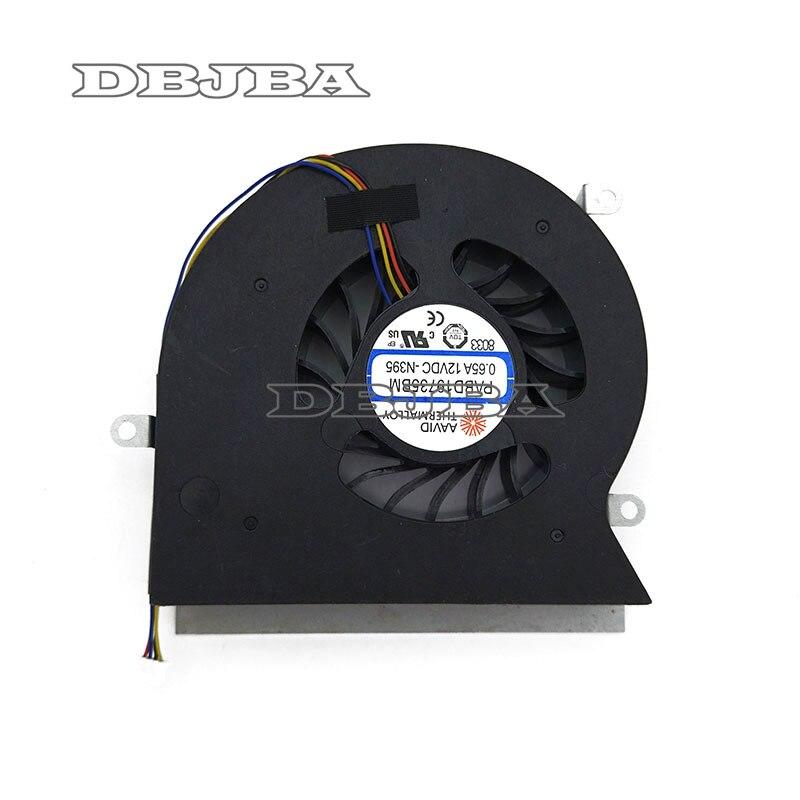 Ventilation pour ordinateur Pour MSI GT62VR 6RE 6RD GT62VR 7RE Dominator Pro 16L1 16L2 ventilateur cpu PABD19735BM-N322 à 4 Broches